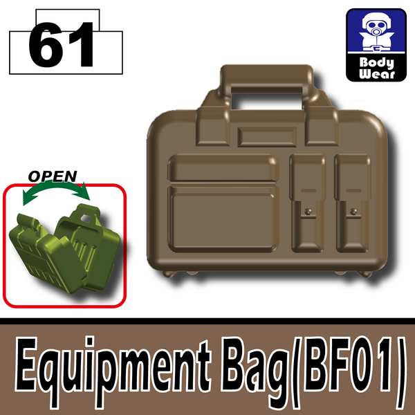 Deep Dark Tan_Equipment Bag(BF01)