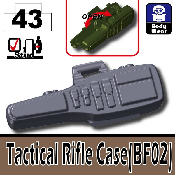 Dark Blue Gray_Tactical Rifle Case(BF02)
