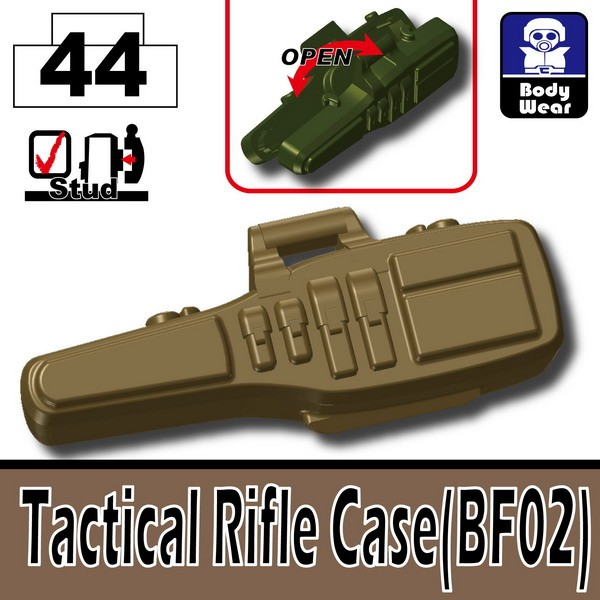 Dark Tan-2_Tactical Rifle Case(BF02)