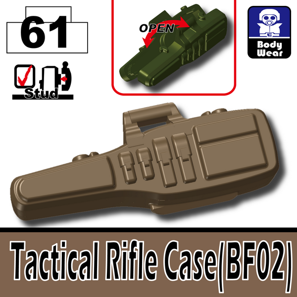 Deep Dark Tan_Tactical Rifle Case(BF02)