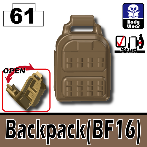 Deep Dark Tan_Backpack(BF16)