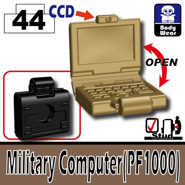 Dark Tan-2_Military Computer(PF1000)