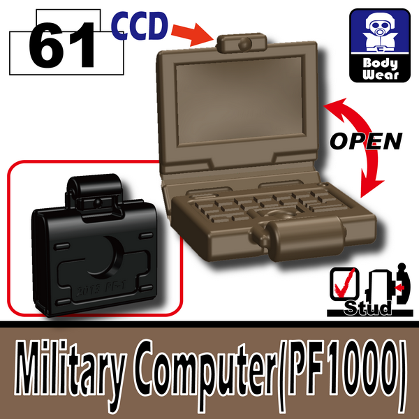 Deep Dark Tan_Military Computer(PF1000)
