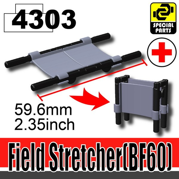 4303Dark Blue Gray_Field Stretcher(BF60)