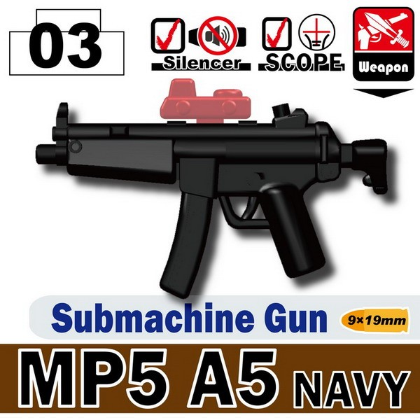 Black_MP5A5 NAVY