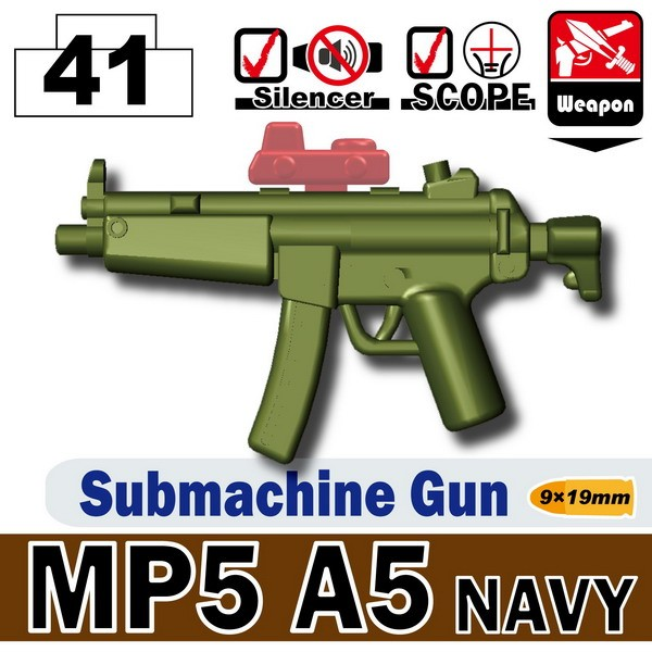 Tank Green_MP5A5 NAVY