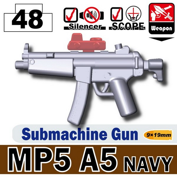 Light Silver_MP5A5 NAVY