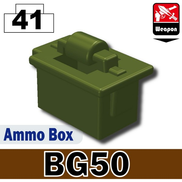 Tank Green_Ammo Box(BG50)