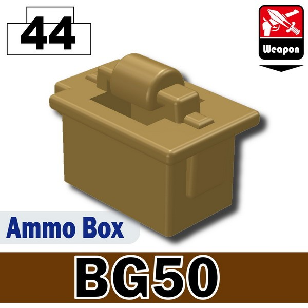 Dark Tan-2_Ammo Box(BG50)