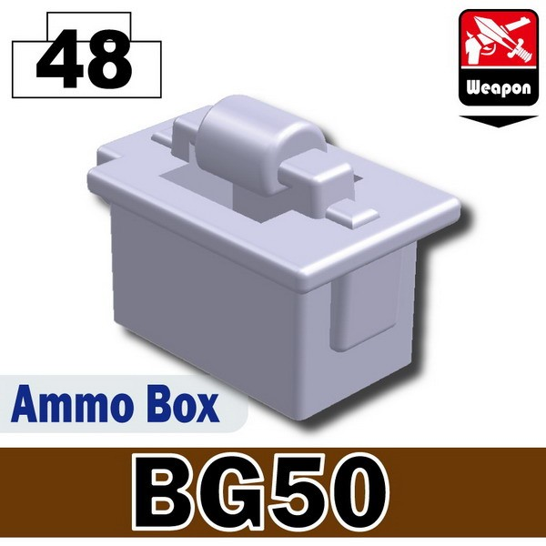 Light Silver_Ammo Box(BG50)