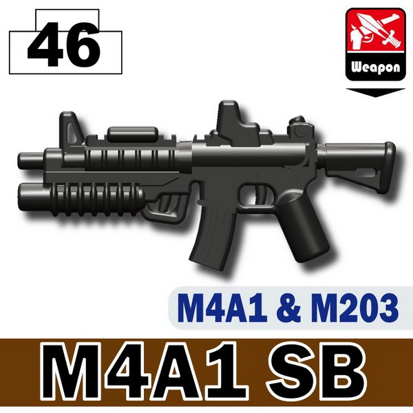 Pearl Dark Black_M4A1SB