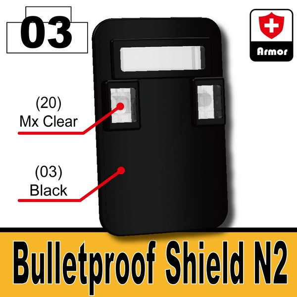 Black_Bulletproof Shield (N2)