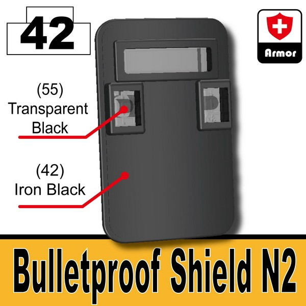 Iron Black_Bulletproof Shield (N2)