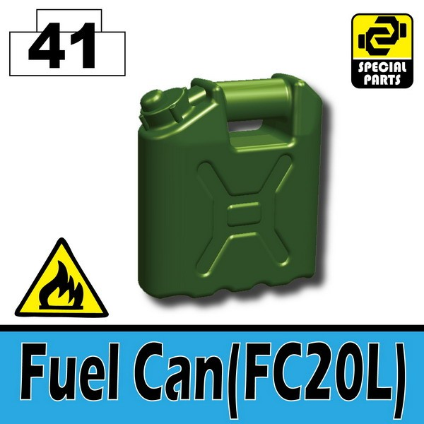 Tank Green_Fuel Can(FC20L)