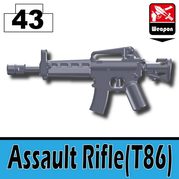 Dark Blue Gray_Assault Rifle(T86)