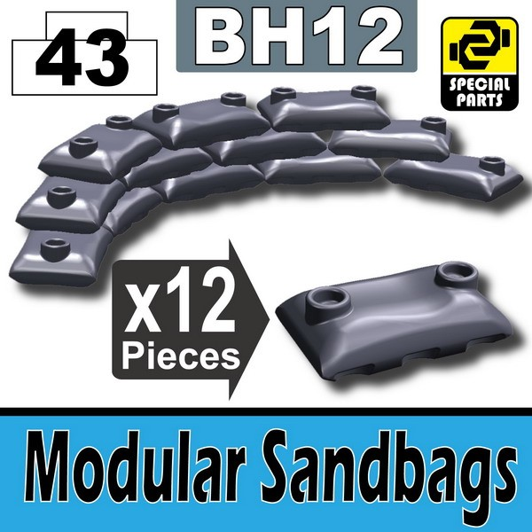 Dark Blue Gray_Modular Sandbags(BH12)