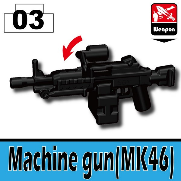 Black_Machine gun(MK46)