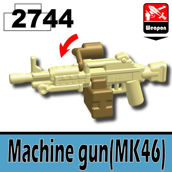2744Tan_Machine gun(MK46)