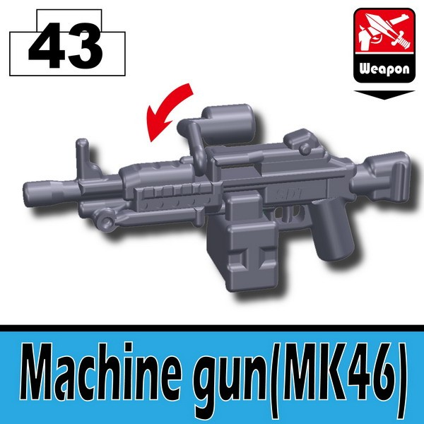 Dark Blue Gray_Machine gun(MK46)