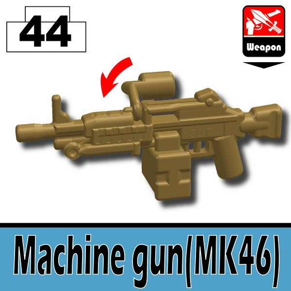 Dark Tan_Machine gun(MK46)