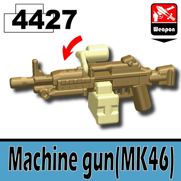 4427Dark Tan_Machine gun(MK46)