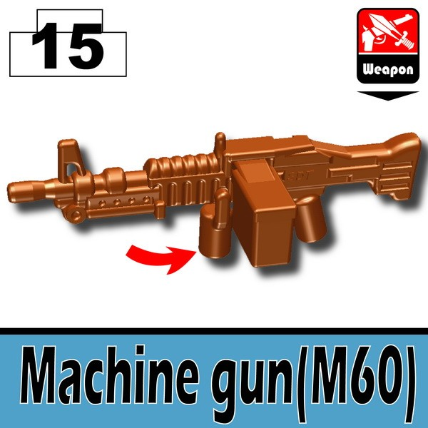 Brown_Machine gun(M60)