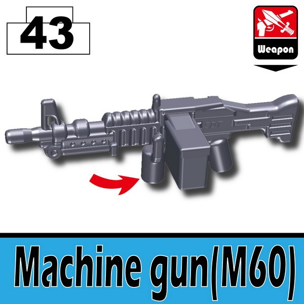 Dark Blue Gray_Machine gun(M60)