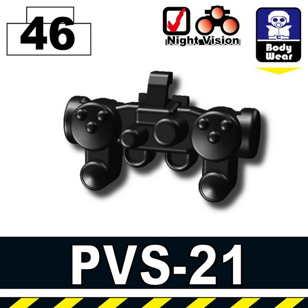 Pearl Dark Black_Night Vision(PVS-21)