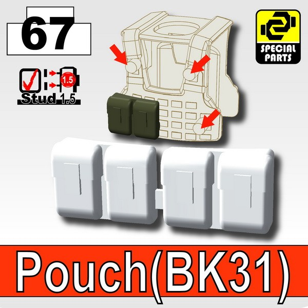 Cold White_Pouch(BK31)