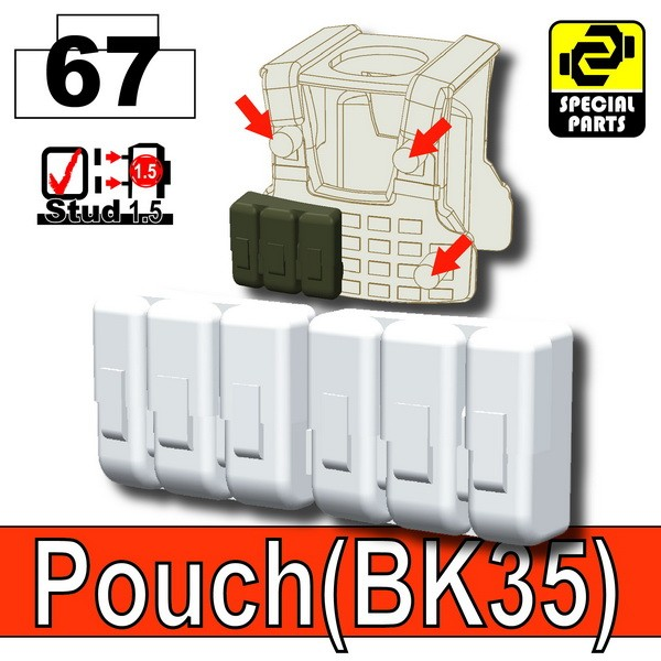 Cold White_Pouch(BK35)