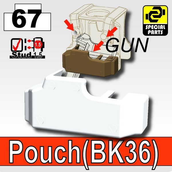 Cold White_Pouch(BK36)