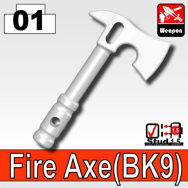 White_Fire Axe(BK9)