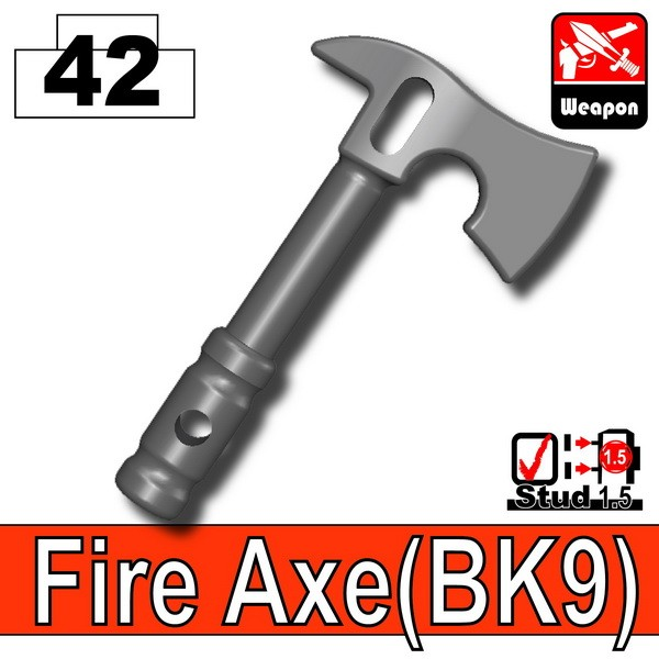 Iron Black_Fire Axe(BK9)