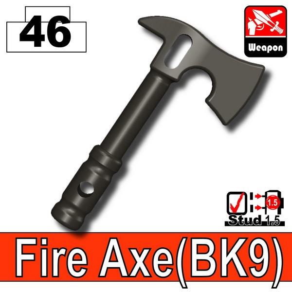 Pearl Dark Black_Fire Axe(BK9)