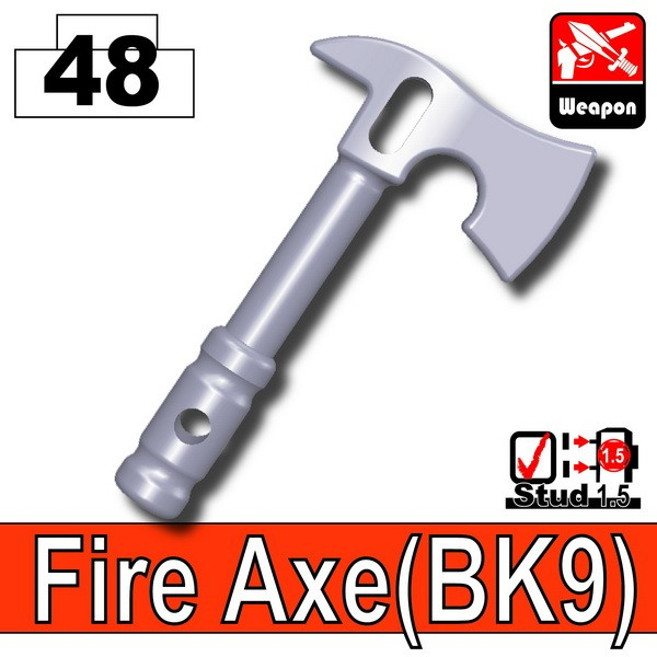 Light Silver_Fire Axe(BK9)