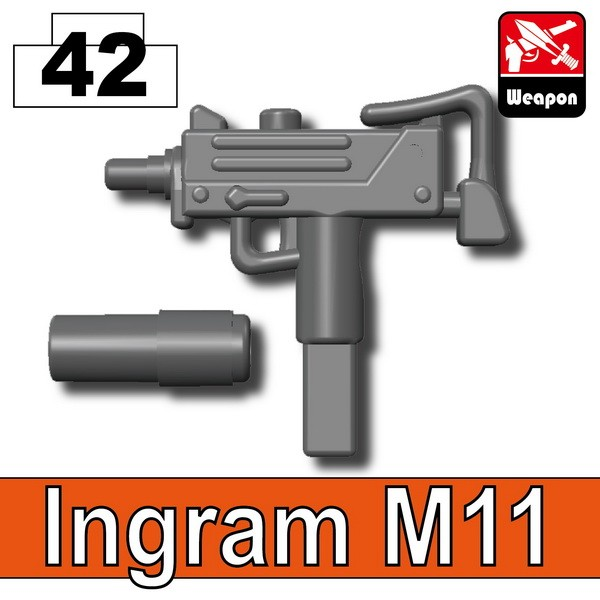 Iron Black_Ingram M11