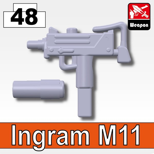Light Silver_Ingram M11