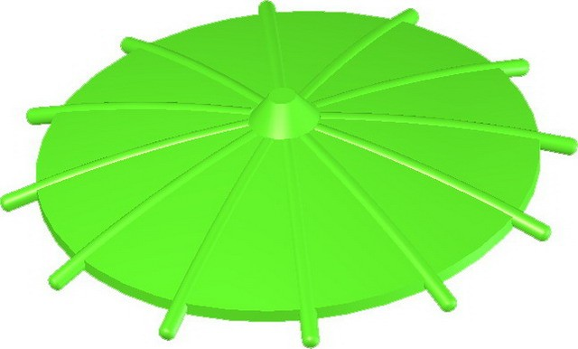 Japanese Umbrella -Lime
