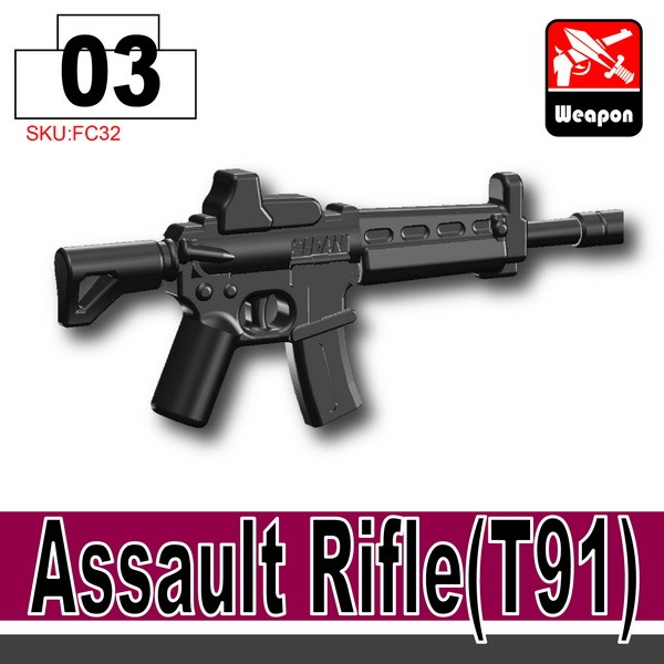 Black_Assault Rifle(T91)