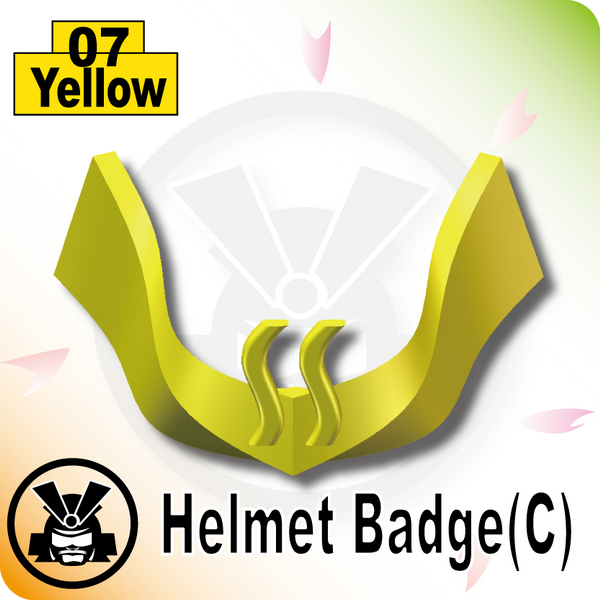 Helmet Badge(C) -Yellow