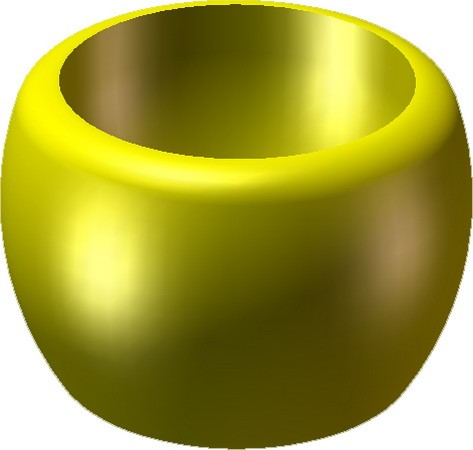 Monk's Bowl -Yellow
