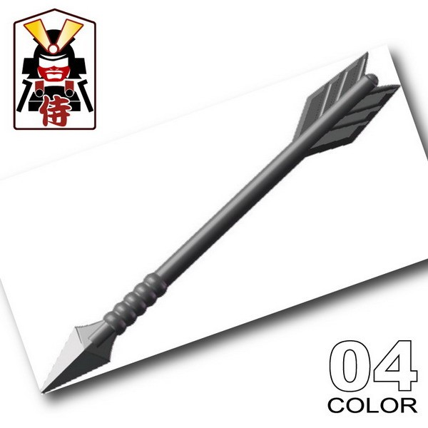Samurai Arrow -Dark Gray