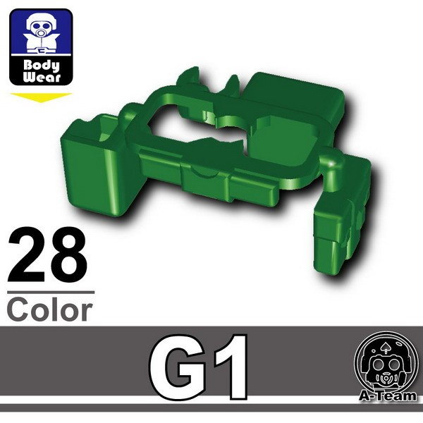 Dark Green_Tactical Belt(G1)