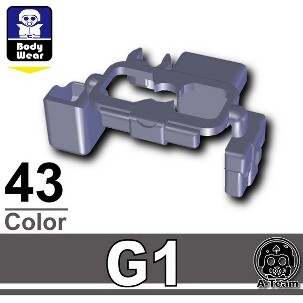 Dark Blue Gray_Tactical Belt(G1)