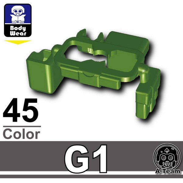 Iron Green_Tactical Belt(G1)