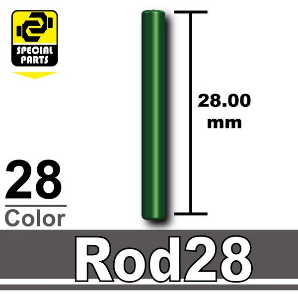 Dark Green_Rod28