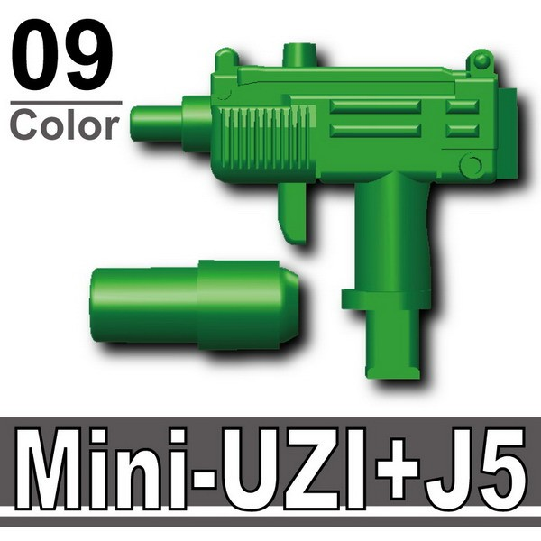 Green_Mini-UZI+Silencer(J5)