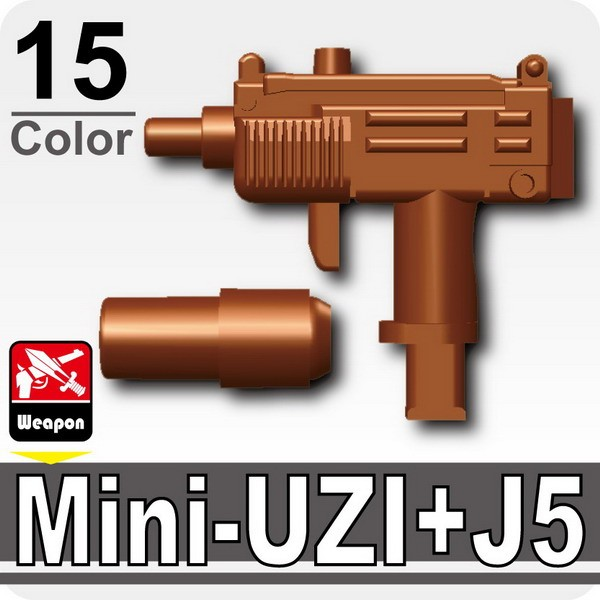 (15)Brown_Mini-UZI+Silencer(J5)