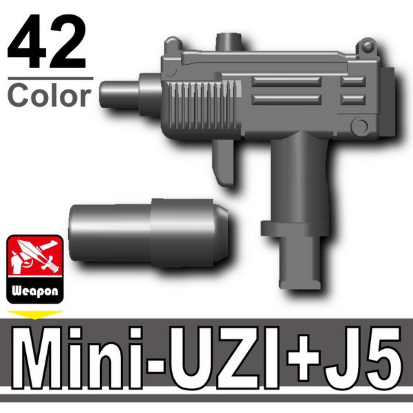 Iron Black_Mini-UZI+Silencer(J5)