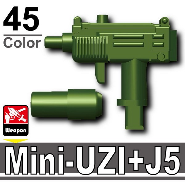 Iron Green_Mini-UZI+Silencer(J5)